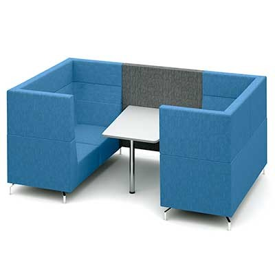 Four Person Large Private Meeting Booth