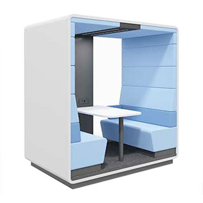 Hush Acoustic Large Open Meeting Booth