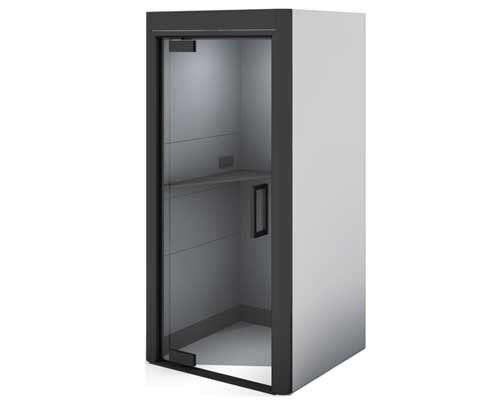 Oasis Office Phone Booth with Grey laminate finish