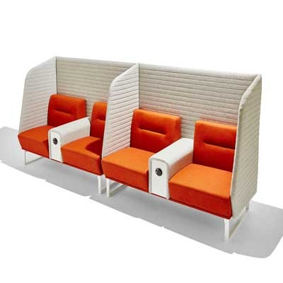 Socialite Breakout Modular 4 Seater Booth