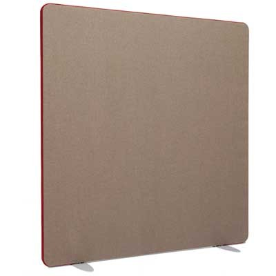 Softline Straight Top Acoustic office screen 1200mm High