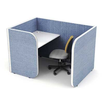 Low 1 Person Work Hub