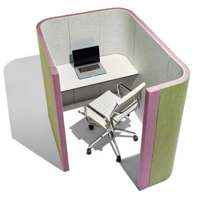 Small Acoustic Single Person Work Booth