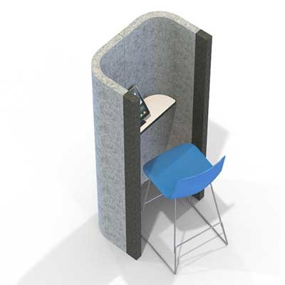 Acoustic Office Phone Booth