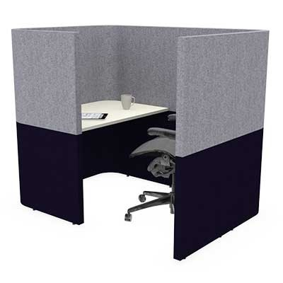 One Person Small Solo Work Booth