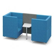 Two Person Private Meeting Booth