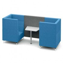 Two Person Large Private Meeting Booth