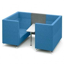 Four Person Private Meeting Booth