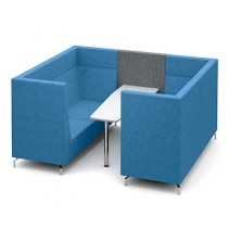 Six Person Private Meeting Booth