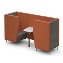 Two Person Seated Meeting Booth