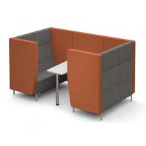 Four Person Seated Meeting Booth