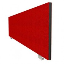 Jump Desk Mounted Office Screen in Red
