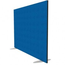 Jump Rectangular Freestanding Office Screen 1600mm High