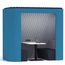 Oasis Soft Small Office Work Booth