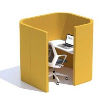Oasis Soft Small Solo Office Work Hub