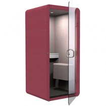 Penelope Phone Booth with Perch