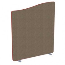 Softline Wave Top Acoustic office screen 1100mm High