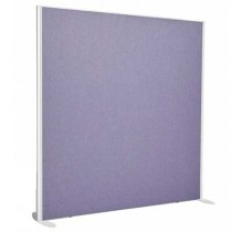 Sprint Aluminium Frame Straight top freestanding office screen 1400mm high