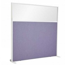 1/3 Glazed Office Screen 1600mm High