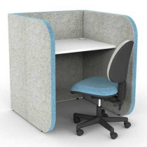 Low 1 Person Study Booth