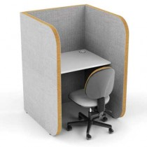 High 1 Person Study Booth