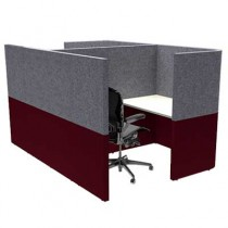 Two Person Small Solo Work Booth