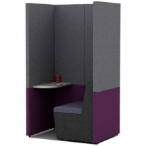 Single Person Work Booth 800mm Deep