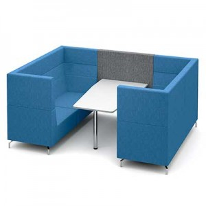 Six Person Large Private Meeting Booth