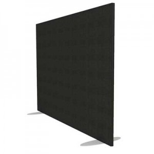 Jump Rectangular Freestanding Office Screen 1400mm High