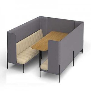 Kastaway 8 Person High Back Seating Booth