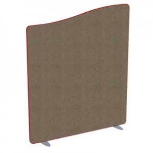 Softline Wave Top Acoustic office screen 1800mm High