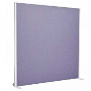 Sprint Aluminium Frame Straight top freestanding office screen 1000mm high