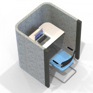 Acoustic Study and quiet area booth