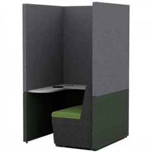 One Person Work Booth 1100mm Deep