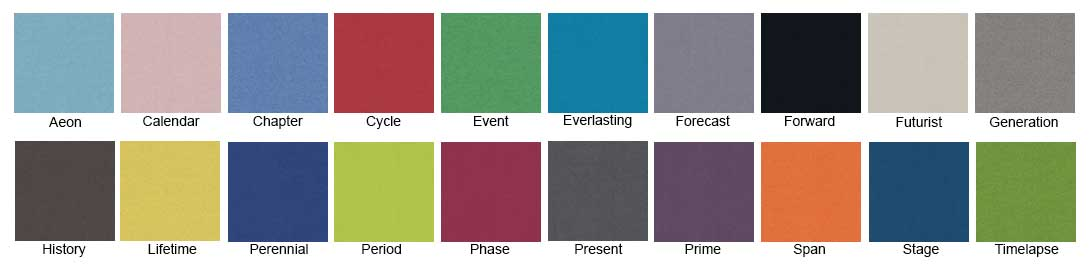 Camira Era Colour Chart