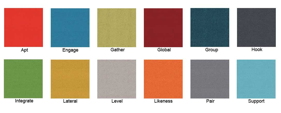 Camira Synergy colour chart