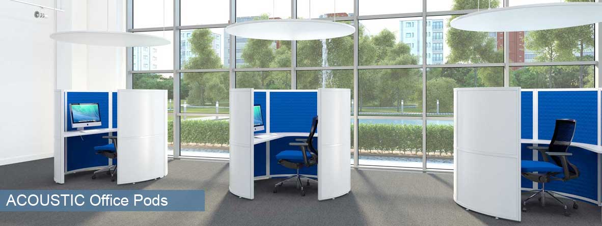 Office Meeting and Work Pods