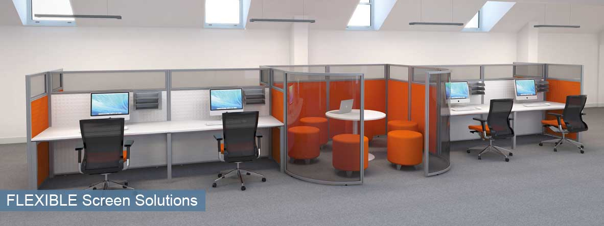 Flexible Office Screens Solutions