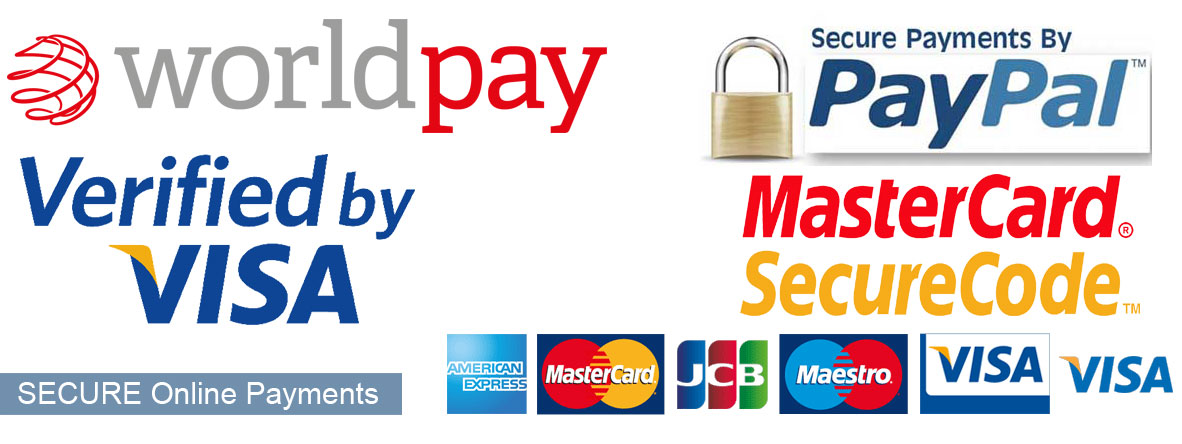 Office Screens.co.uk has secure online payments via Worldpay and PayPal